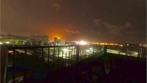 工業団地の夜景